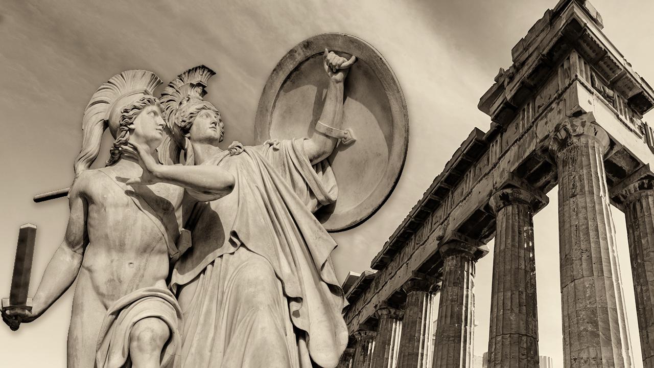 Atenea, la divinidad y el poder