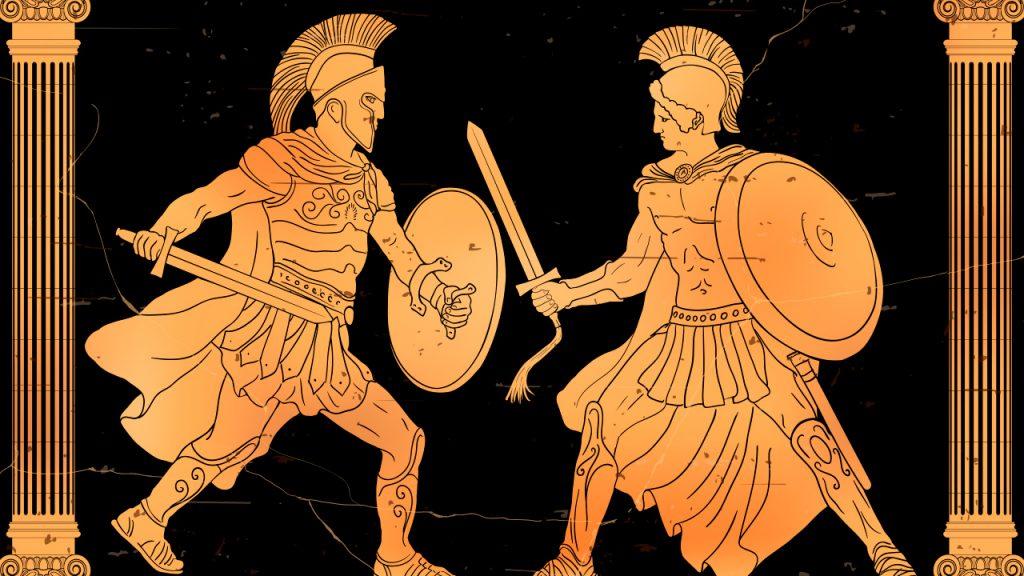 Cleón y el sexo en Los dioses muertos